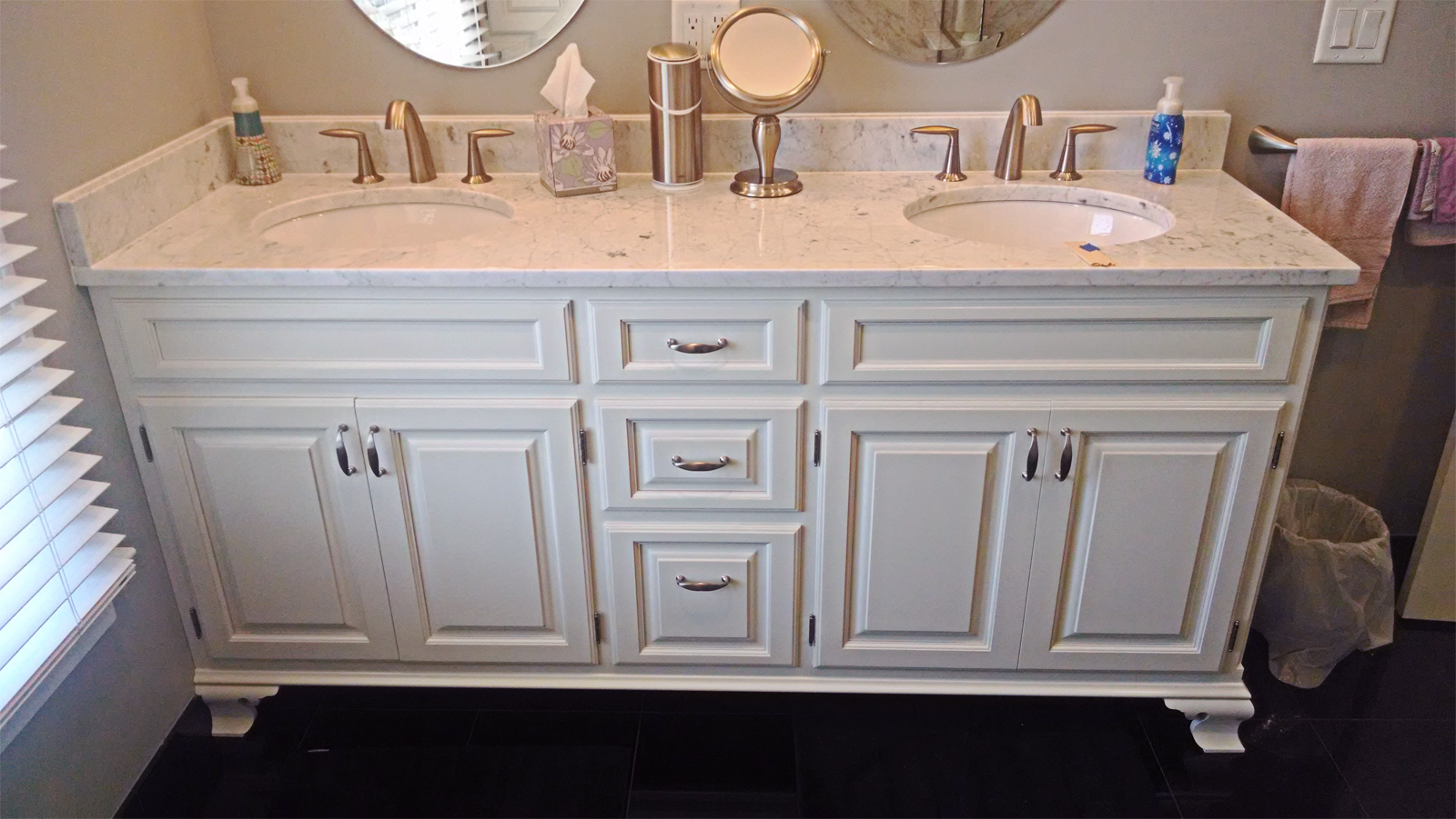 Master Bathroom by Zang Cabinetry
