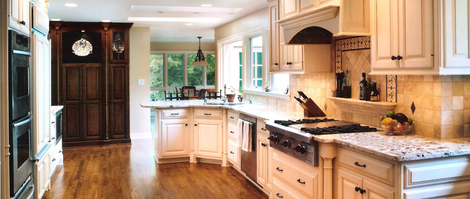 Old World Kitchen Cabinets Remodel