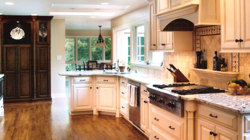 Old World Kitchen Cabinets Remodel