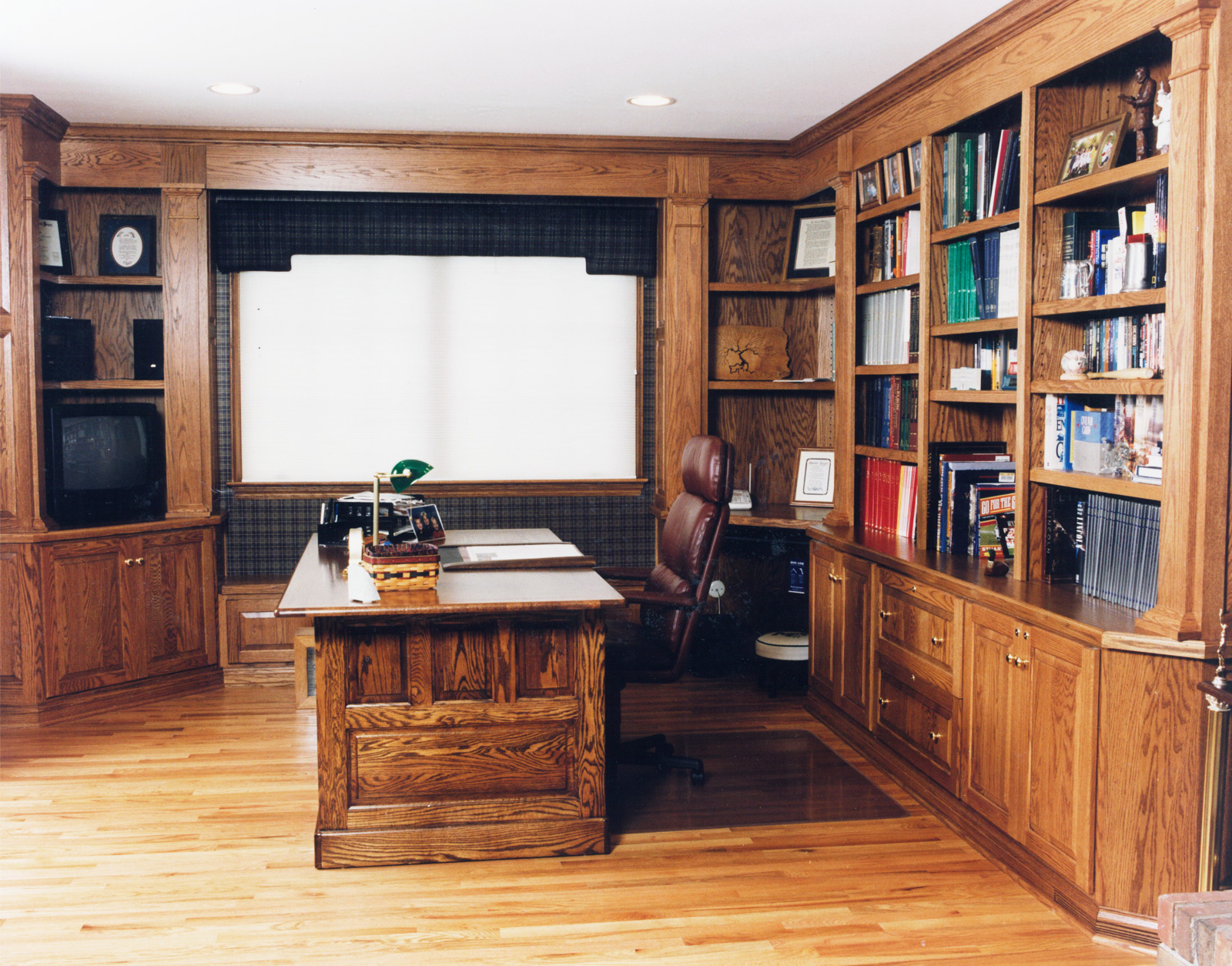 One of the first Home Offices we created at The Zang Company.